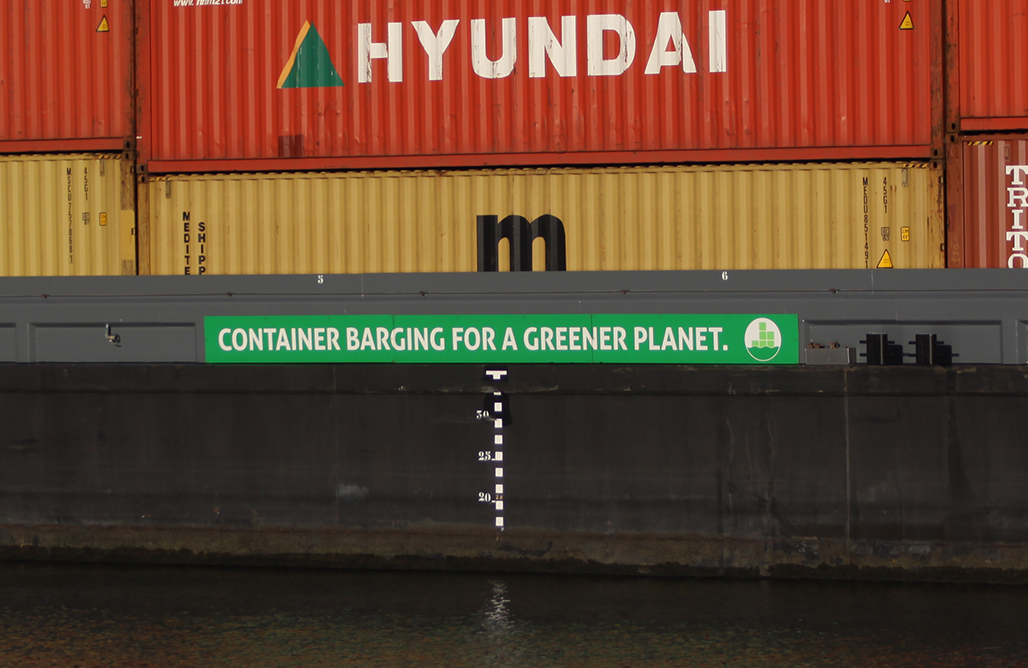 barging for a green world